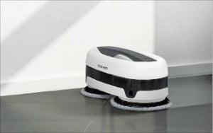 바퀴 없는 '로봇청소기'…움직이면 물걸레가 바닥 쓱쓱