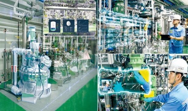 포항산업과학연구원이 포스코케미칼과 디지털트윈 기술로 2차전지 공정을 개선했다. /포항산업과학연구원 제공
