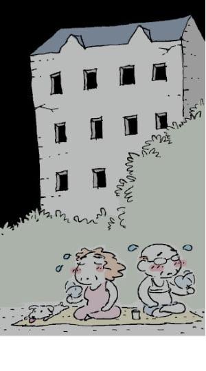 """""""밤 되면 전기 차단합니다""""…폭염에 노후 아파트들 '비상'"""
