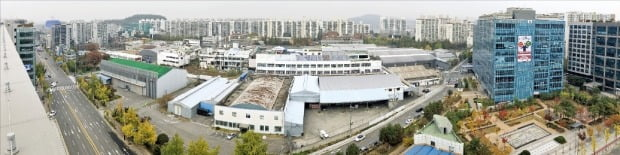 지식산업센터, 업무·상업시설 등이 들어설 서울 가양동 CJ 공장 부지.  /인창개발 제공