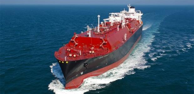 현대삼호중공업이 건조한 LNG선. /사진=현대삼호중공업