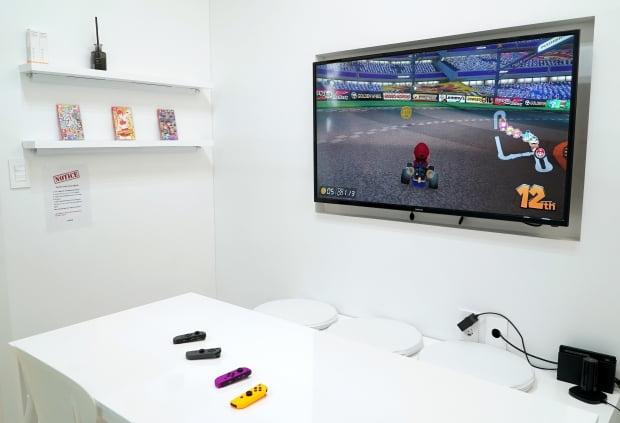 브렌드엑스가 최근 오픈한 직원들을 위한 휴게실.