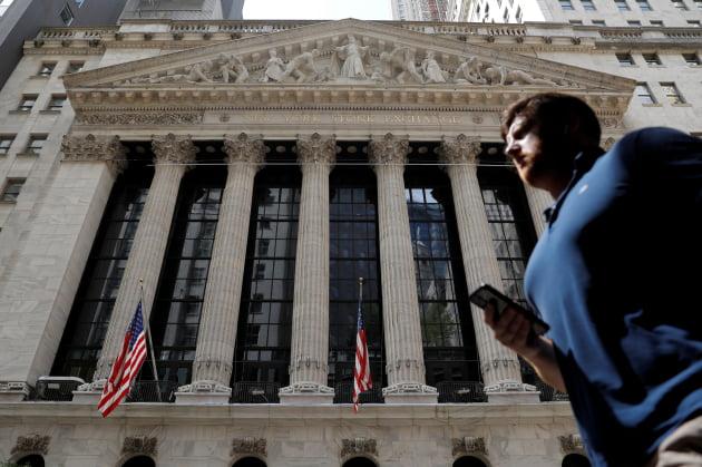 미국 뉴욕 증권거래소. 출처: 연합뉴스