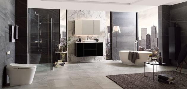 LX하우시스의 하이엔드급 욕실 인테리어 시리즈 '제니스9'. 출처: LX하우시스