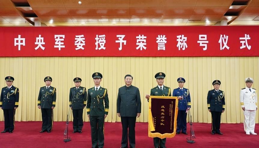 """'中앞길 막지 말라' 시진핑, 신장 부대에 """"용감히 전진"""" 주문"""