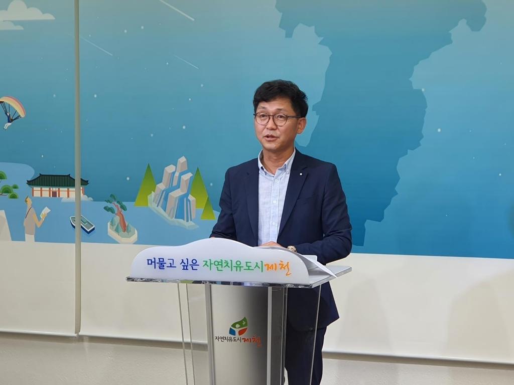 """박성원 도의원 """"내년 지방선거 불출마""""…충북서 처음"""