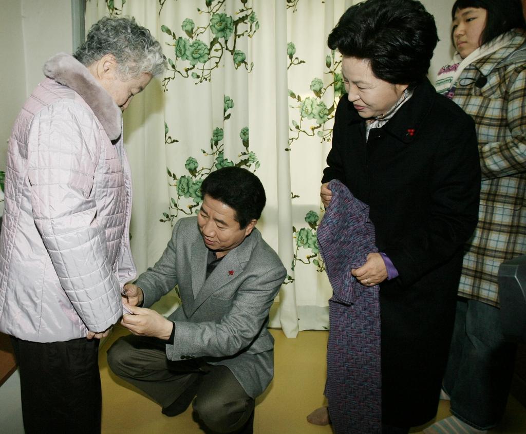 [사진톡톡] 대통령의 '진짜' 선물
