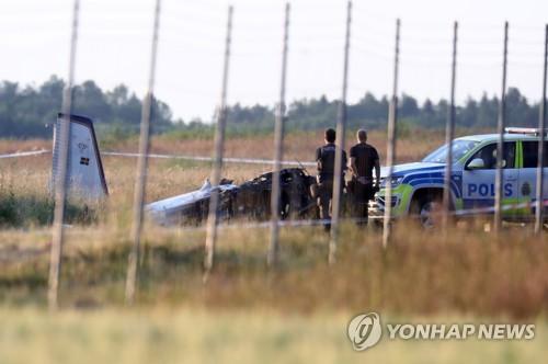 스웨덴서 스카이다이버 태운 비행기 추락…여러명 사망