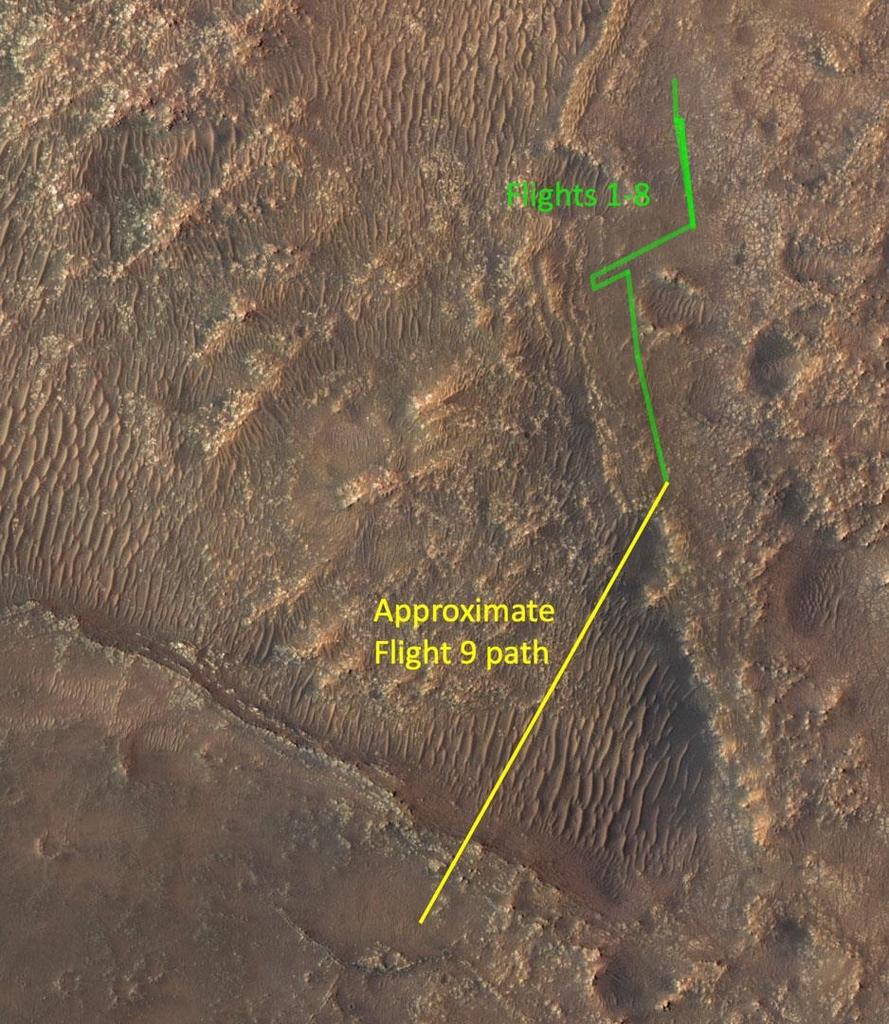 [사이테크 플러스] 화성 헬기 최장거리 비행…퍼시비어런스와 탐사 협업 본격화