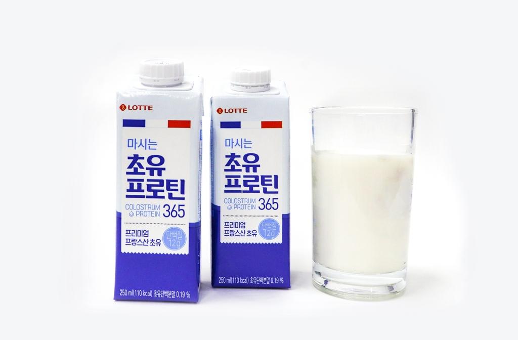 [금주신상] 롯데칠성 '마시는 초유프로틴'·파스퇴르 '보양이유식'