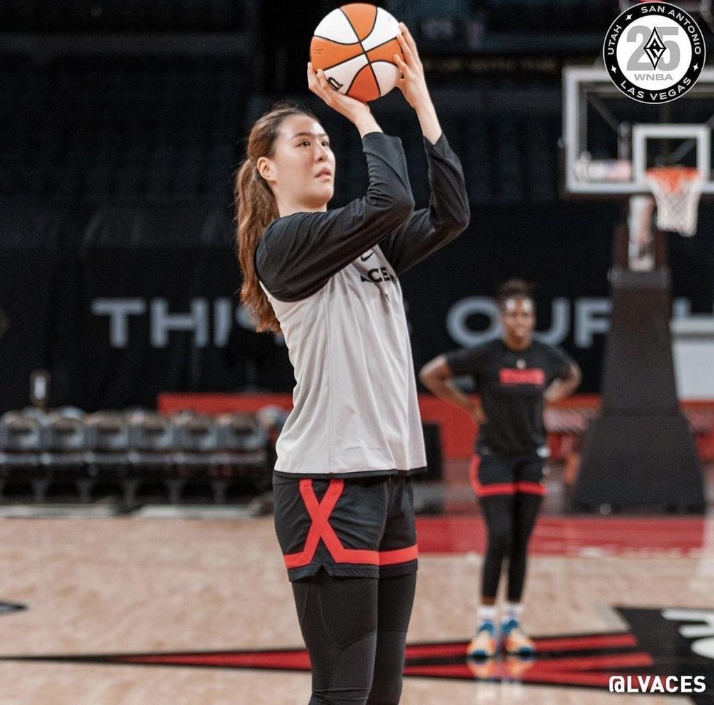 WNBA 박지수, 미네소타전 상대로 리바운드 3개…팀은 2연패
