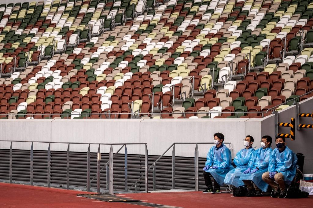 [사진톡톡] 함성 없는 올림픽, 즐길 준비 됐나요?