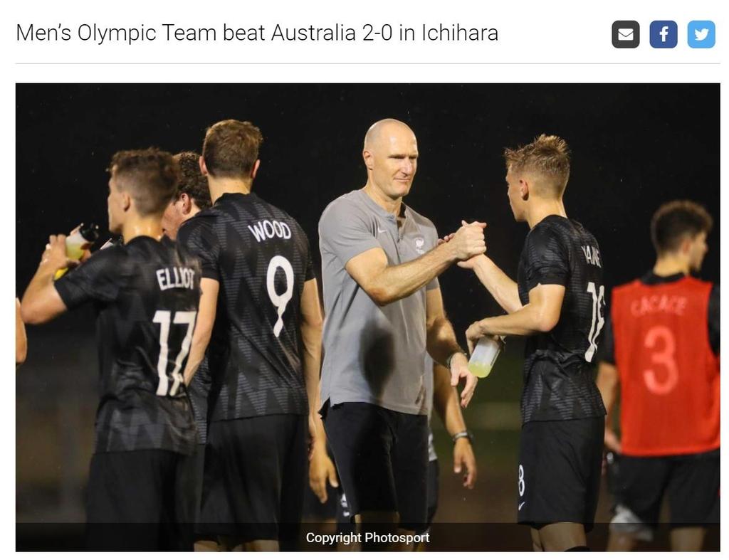 [올림픽] 김학범호 상대팀 뉴질랜드·온두라스, 일본서 최종 리허설