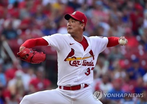 김광현, 컵스전 6이닝 7K 2실점…시즌 6승 요건 확보(종합)