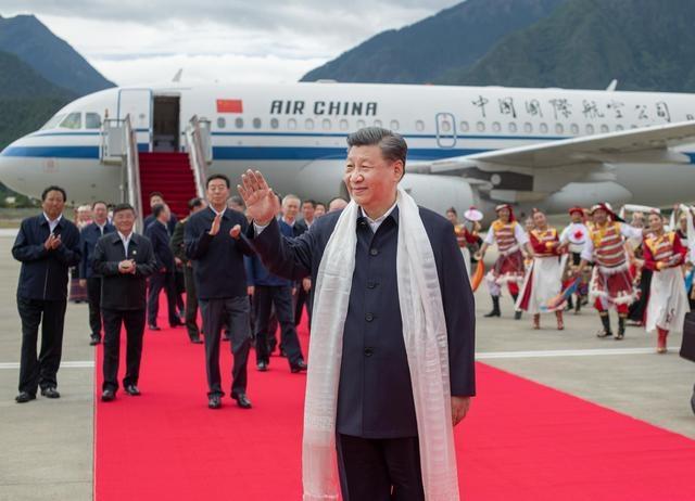 미국의 대중국 '인권 압박' 속 시진핑 티베트 시찰