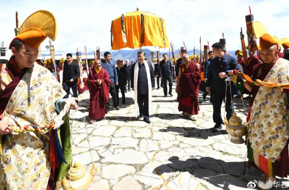 시진핑, '美 인권 압박' 속 집권 후 첫 티베트 공개 시찰(종합)