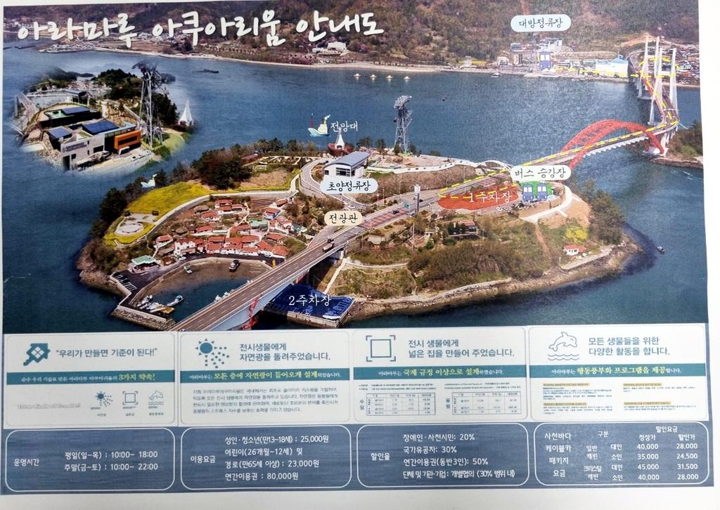 경남 첫 대형수족관 '사천 아라마루 아쿠아리움' 정식 오픈
