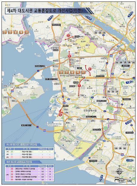 5년간 6개 광역시에 23개 도로 신설…대도시권 교통혼잡 줄인다