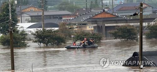 """""""섬진강 수해, 댐 홍수조절량 부족·하천 부실 관리 탓""""(종합)"""
