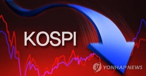 코스피, 3220대 후퇴 마감…외국인·기관 7000억 순매도
