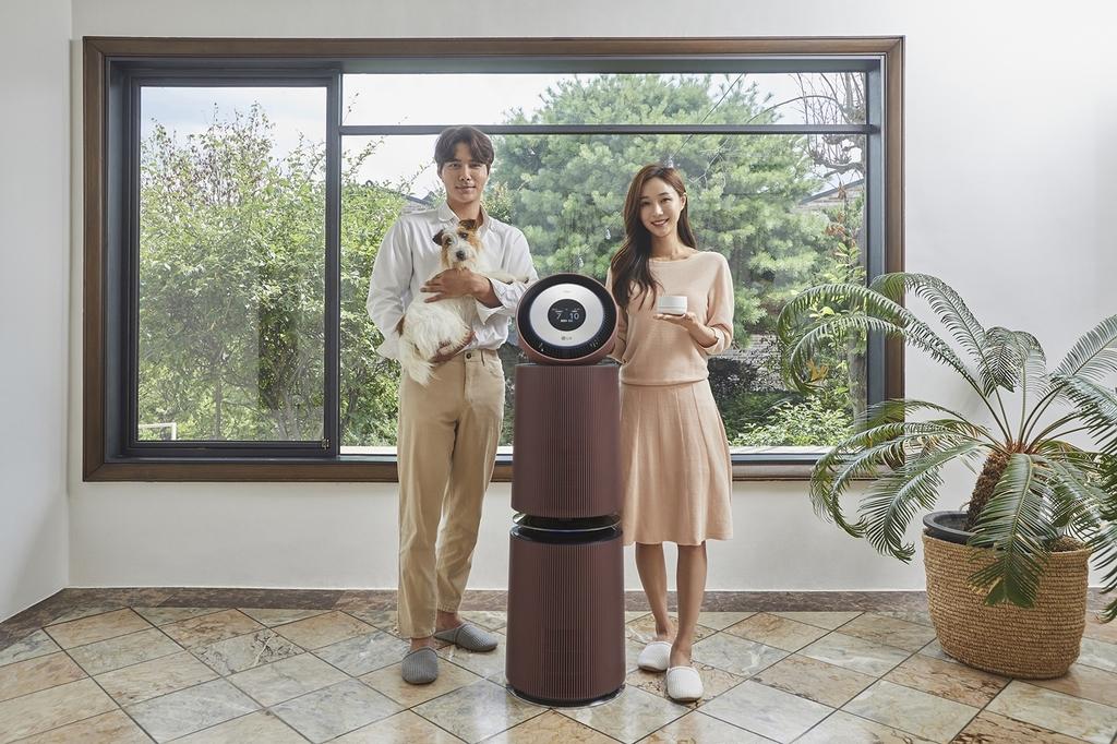 LG전자, 반려동물 가구 위한 공기청정기 신제품 출시