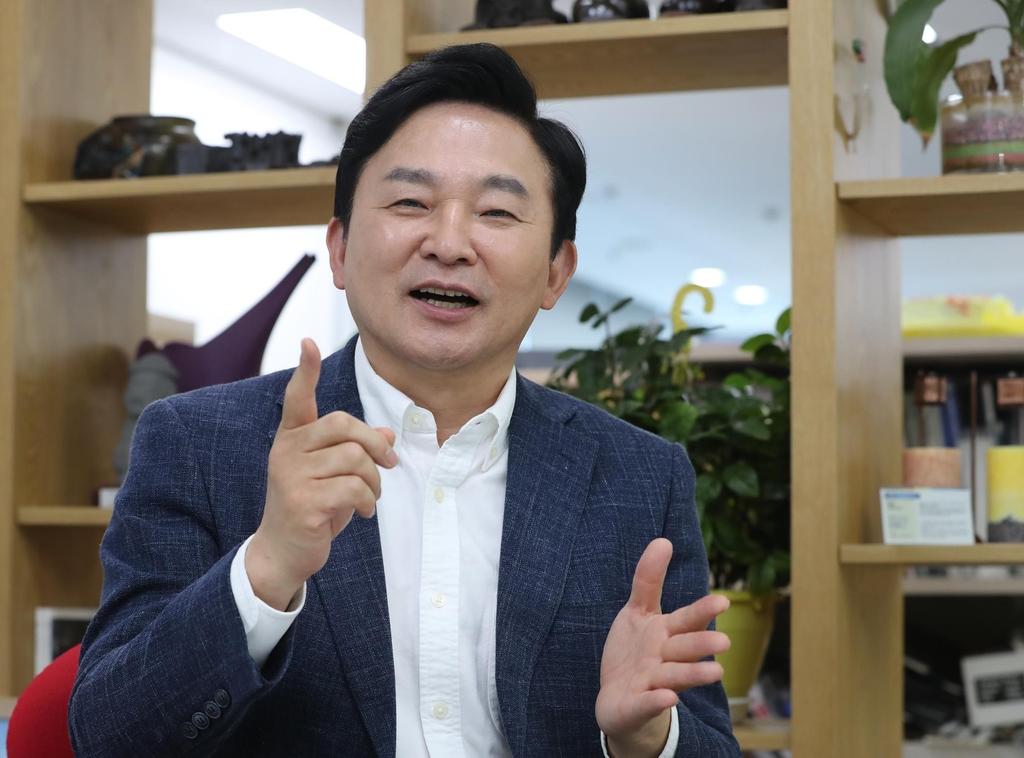 """[일문일답] 원희룡 """"윤석열 이길 자신 있다…어떤 공격에도 당당"""""""