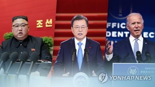 """[고침] 국제(미 """"남북 통신선 복원 환영…북과 대화·관여…)"""