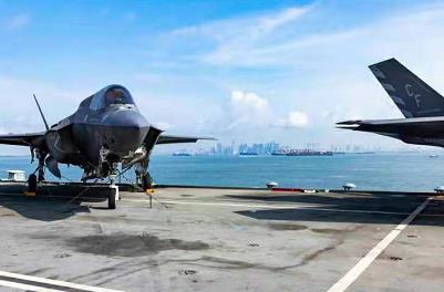 """중국, 英항모 접근 속 남중국해 군사훈련…""""너무 멀리 개입"""""""