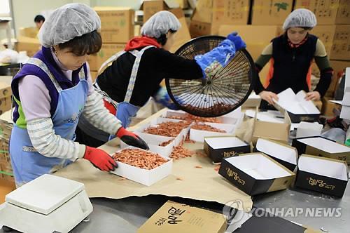 전남 수산가공품 작년 생산량 29만t…전년대비 8.6% 증가