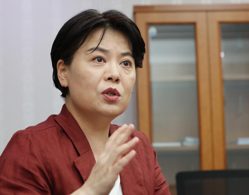 """[인터뷰] 윤희숙 """"독단적 유전자, 586의 낡은 시대 보내야"""""""
