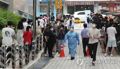 4차 대유행 기세등등…충북 7월 확진 513명, 올해 '월 최다'
