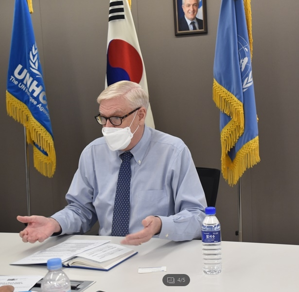 """린치 UNHCR 한국 대표 """"예멘 난민, 한국에 도움주고 있다"""""""