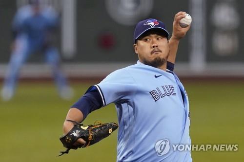 류현진, 보스턴전 6이닝 2피안타 5K 무실점…'시즌 10승 보인다'(종합)