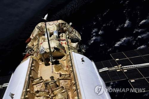 러 우주모듈 나우카 도킹 뒤 ISS 45도 기울어…정상 되찾아(종합)