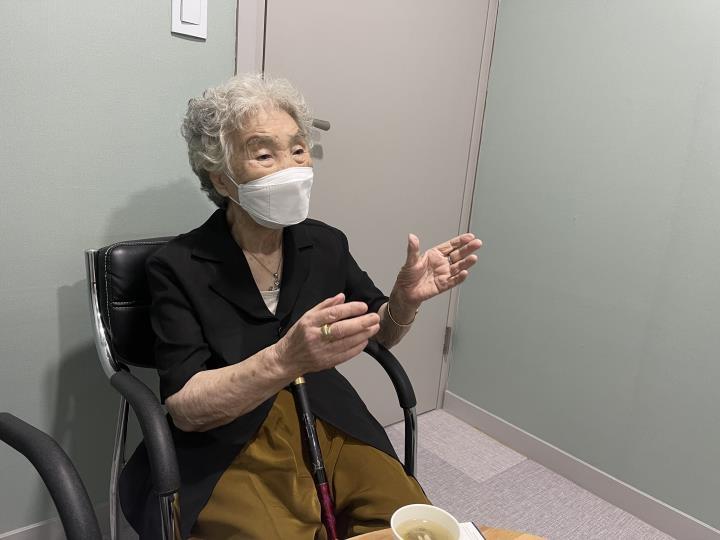 [#나눔동행] 김밥 팔아 일평생 번 6억원 기부한 92세 박춘자 할머니