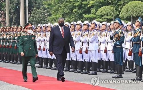 미-베트남 국방장관, '코로나 방역·군사 협력' 방안 논의