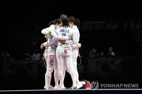 [올림픽] '금빛 자존심' 지켜낸 한국 펜싱, 역대 2위 성적으로 마무리