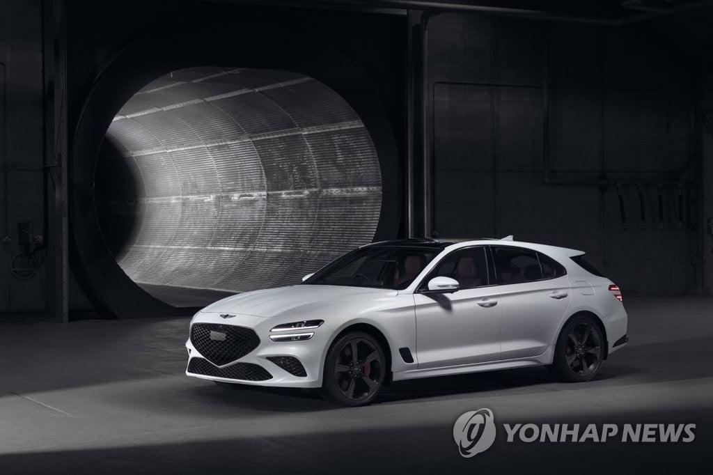 제네시스, `G70 슈팅 브레이크` 세계 최초 공개