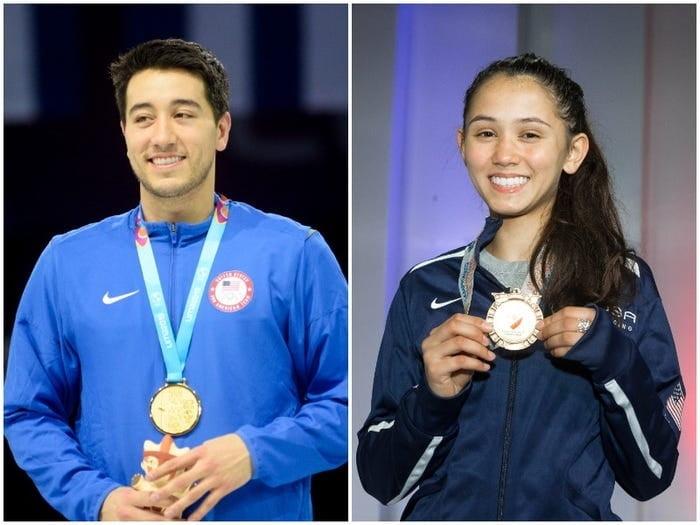 도쿄올림픽 동반 출전 화제의 커플...합치면 금메달 10개