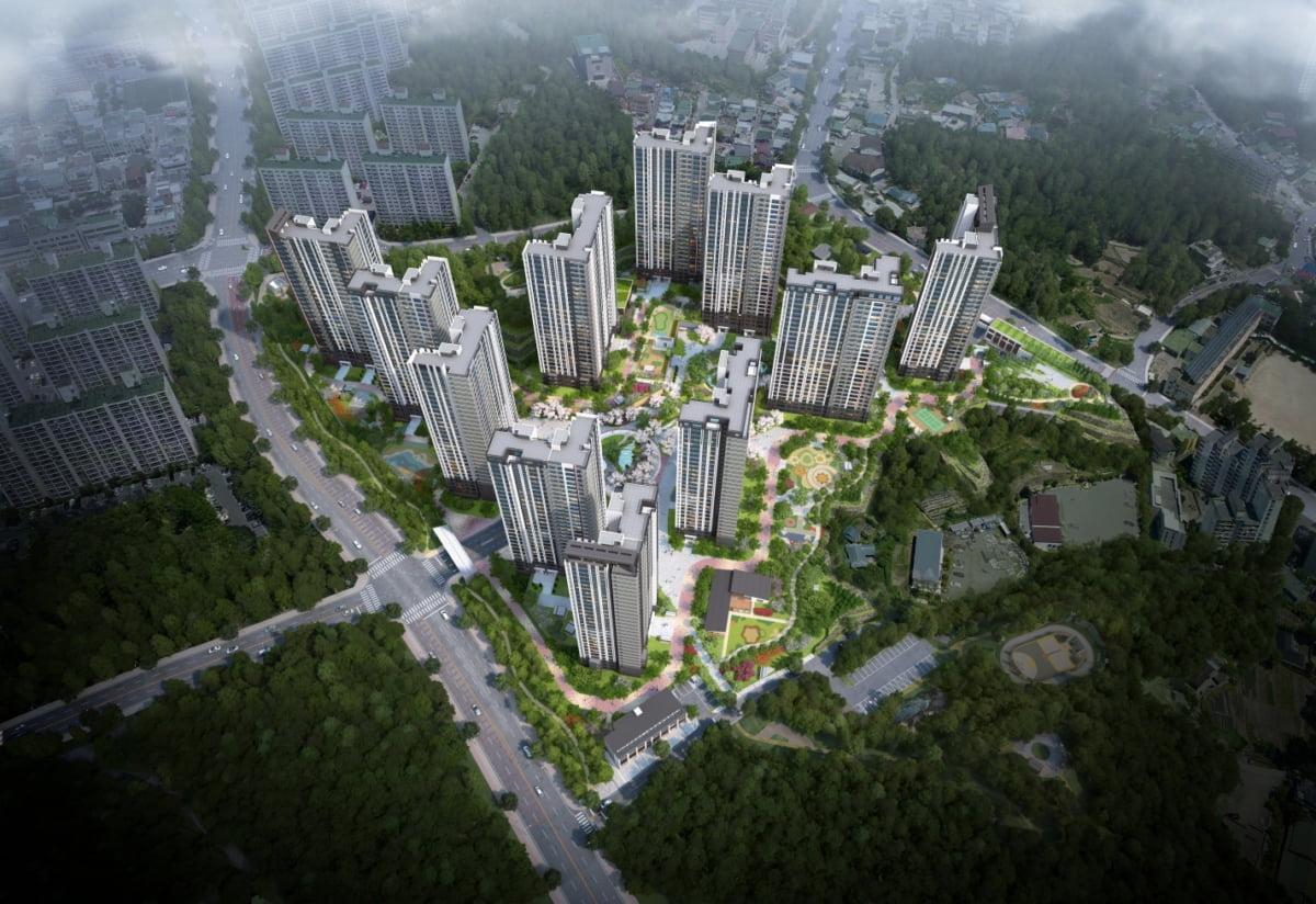 롯데건설, '강릉 롯데캐슬 시그니처' 견본주택 오픈