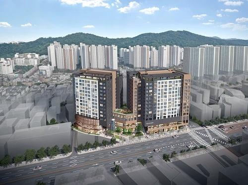 KCC건설, 광명뉴타운에서 8월 `광명 퍼스트 스위첸` 275실 분양 예정