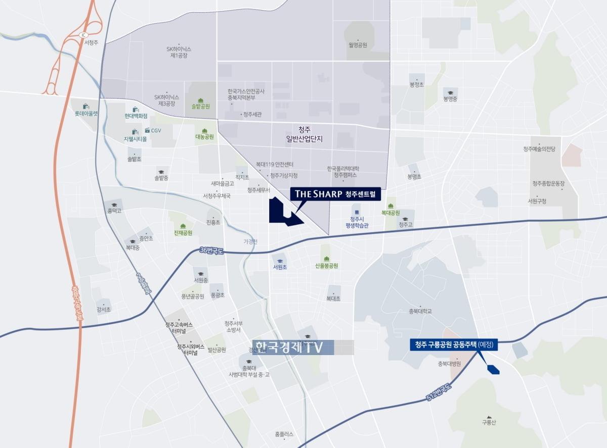 포스코건설, `더샵 청주센트럴` 7월 분양…746세대 일반분양