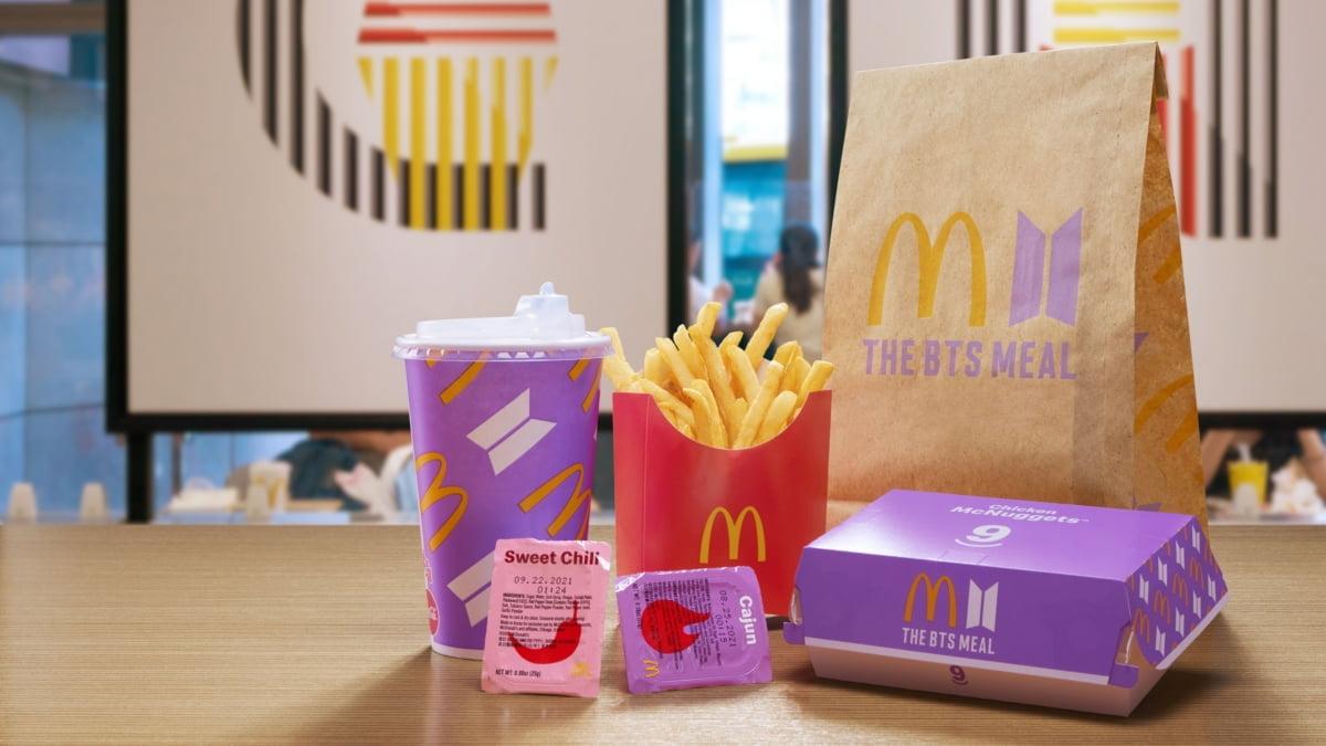 `BTS 메뉴` 히트친 맥도날드...이번엔 1억 팔로워 힙합가수 메뉴