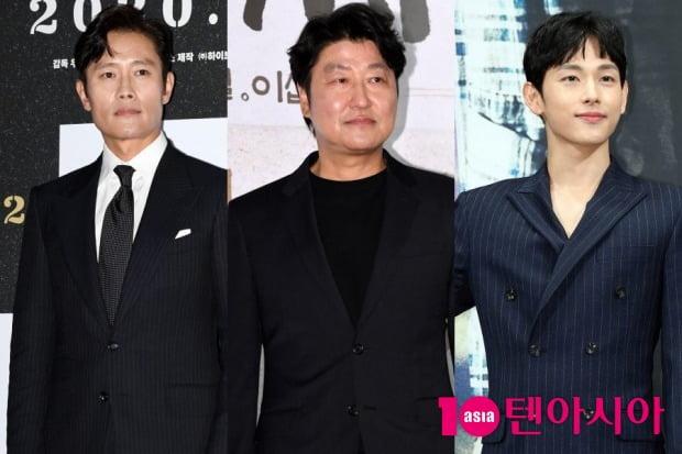 배우 이병헌(왼쪽부터), 송강호, 임시완 / 사진=텐아시아DB