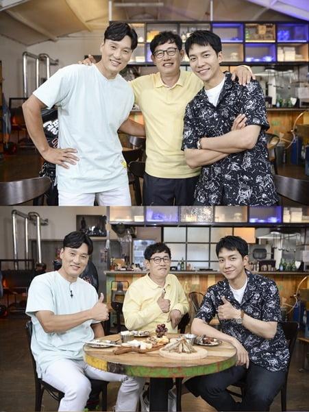 '편 먹고 공치리' MC들의 첫 만남/ 사진=SBS 제공