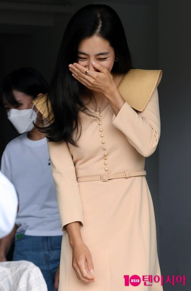 [TEN포토] 한채아 '수줍은 미소'