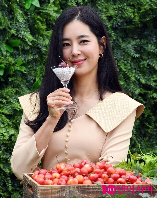 [TEN포토] 한채아 '예쁨을 넘은 우아함'