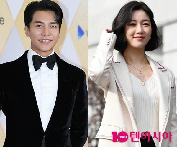 배우 이승기(왼쪽)와 이다인/ 사진=텐아시아DB