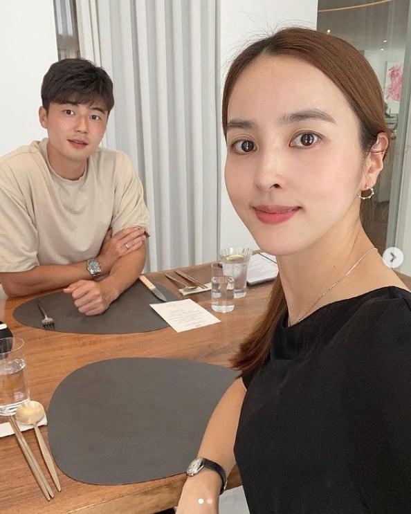 한혜진♥기성용, 결혼 8주년 자축...세월 참 빠르네[TEN★]
