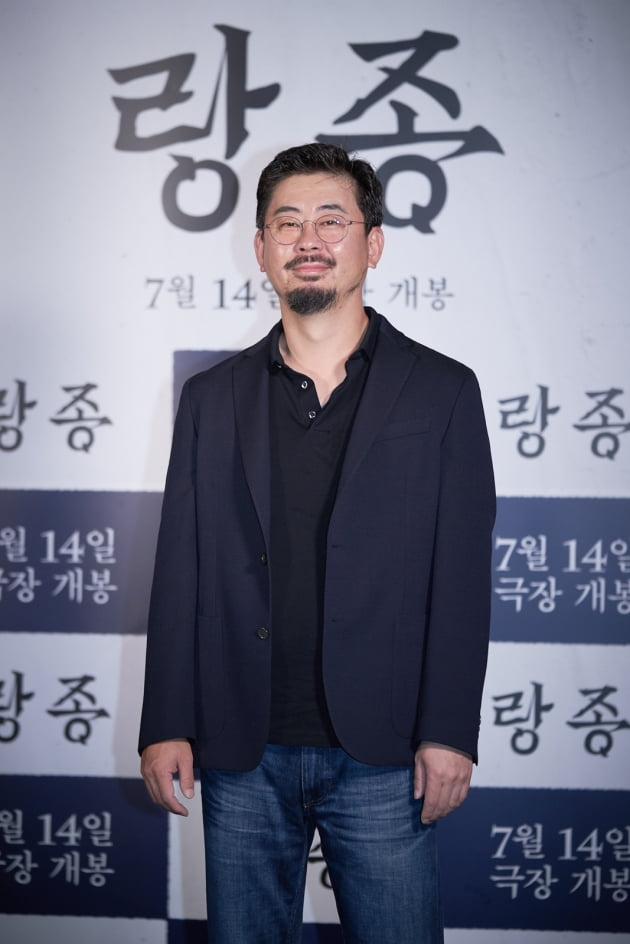 나홍진 감독이 2일 열린 영화 '랑종' 시사회에 참석했다. / 사진제공=쇼박스